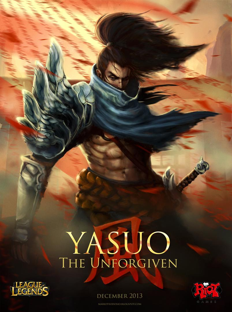 Yasuo Fan Art Contest Surrender at 20...