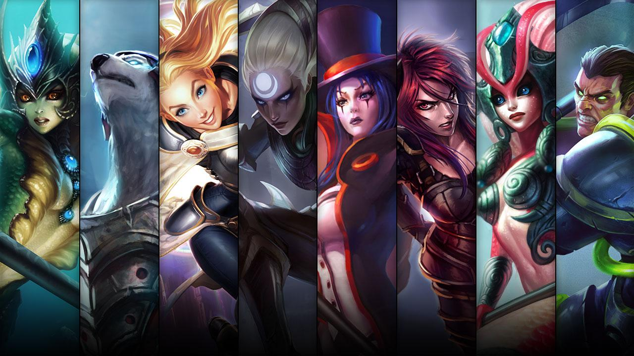Champion And Skin Sale 01 15 01 18 League Of Legends