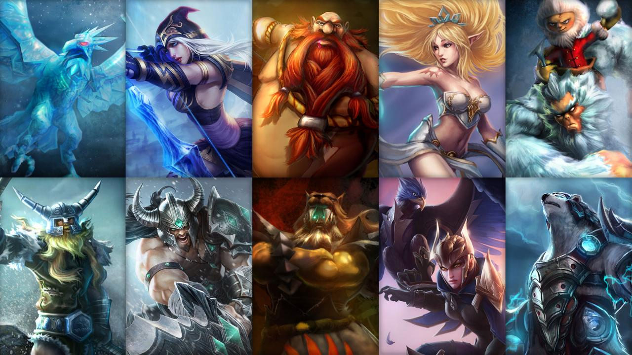 New free champion rotation and sale! | League of LegendsLeague Of Legends Freljord Champions