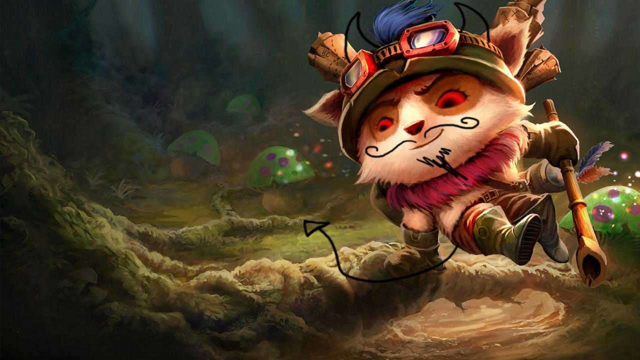 Teemo Funny Face