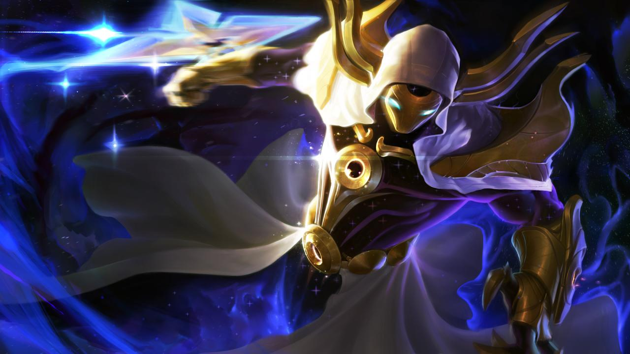 Galaxies crumble before Cosmic Reaver Kassadin | League of