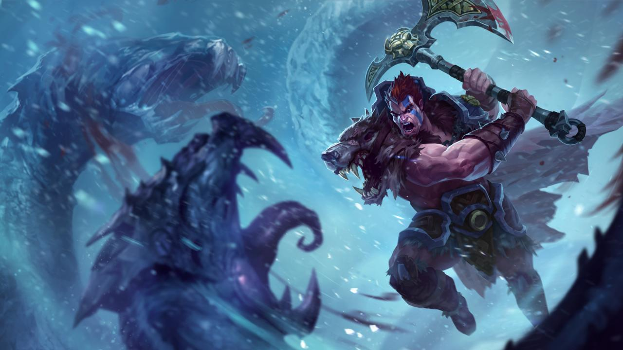 Woad King Darius available now