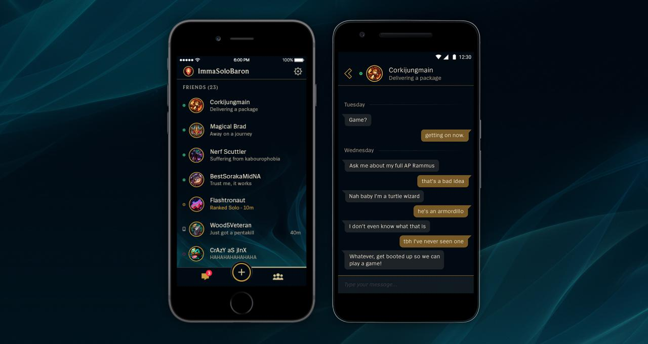 images for league of legends mobile app