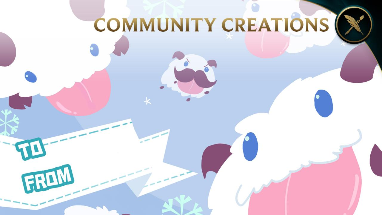 Community Creations: League Gift Tags! | League of Legends