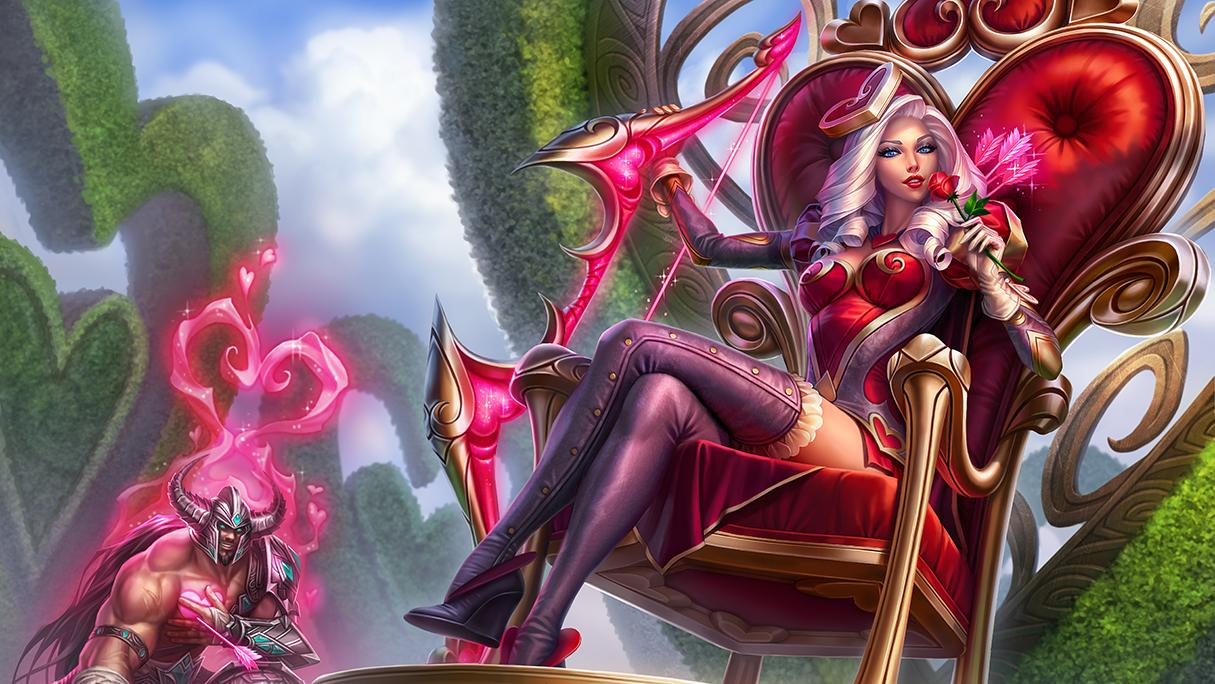 Heartseeker Ashe and Bouquet ward skin available! | League ...