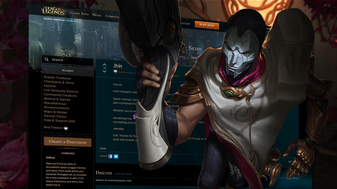 Jhin name meaning