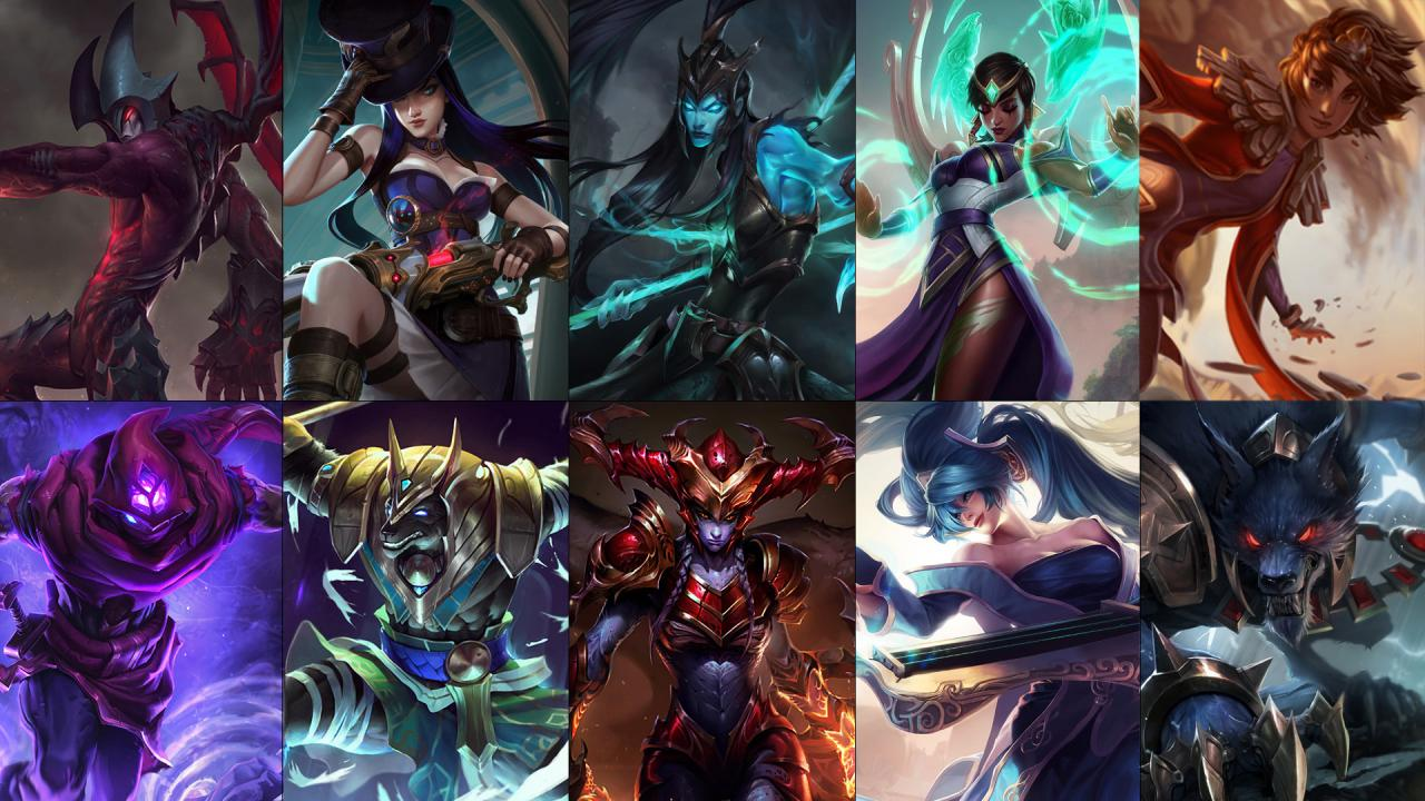 New free champion rotation: Caitlyn, Kalista, Shyvana and more