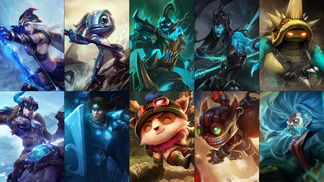 New Free Champion Rotation Ashe Fizz Hecarim And More