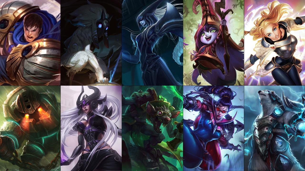 New free champion rotation: Twitch, Vayne, Kindred and more