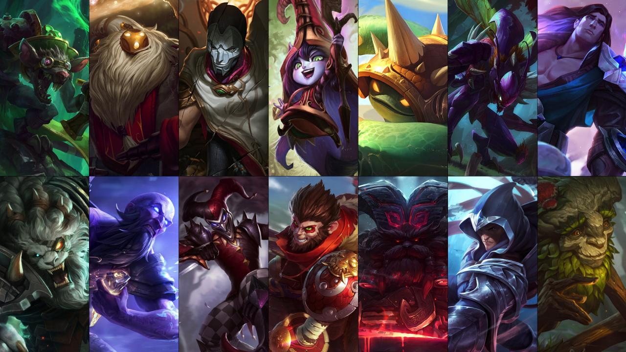 New free champion rotation: Bard, Jhin, Rengar and more