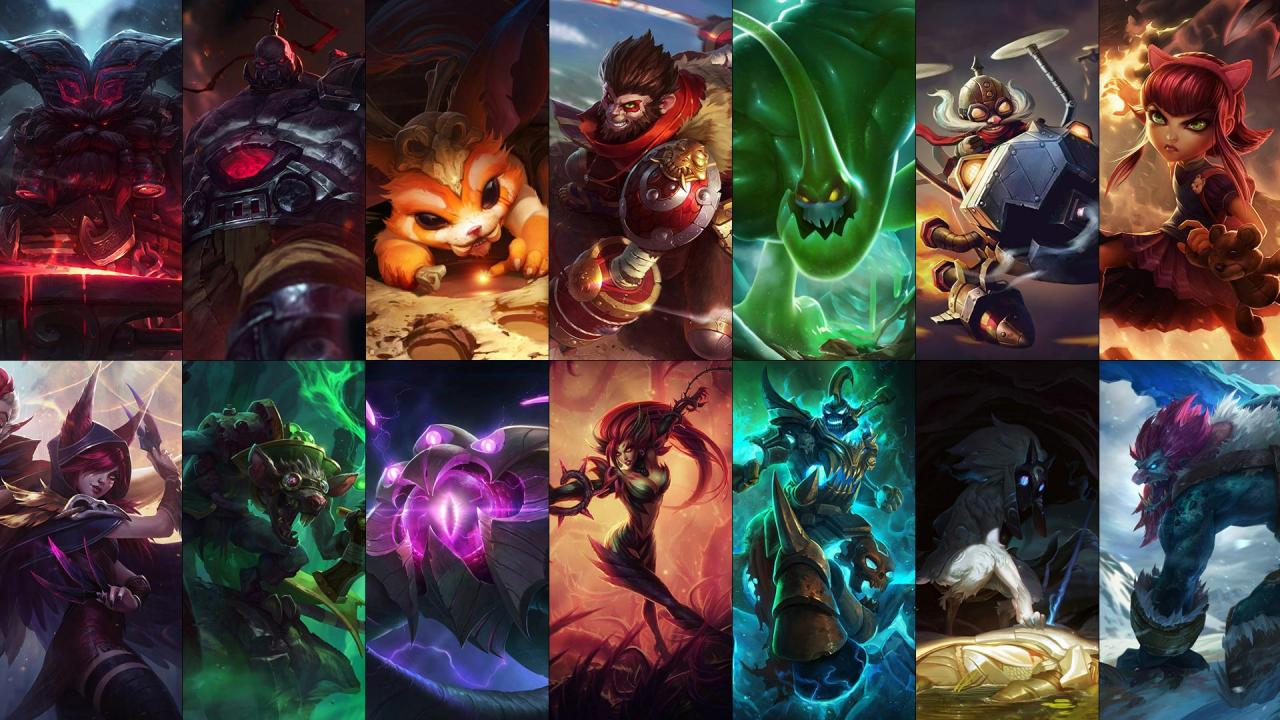 New free champion rotation: Ornn, Xayah, Kindred and more! | League