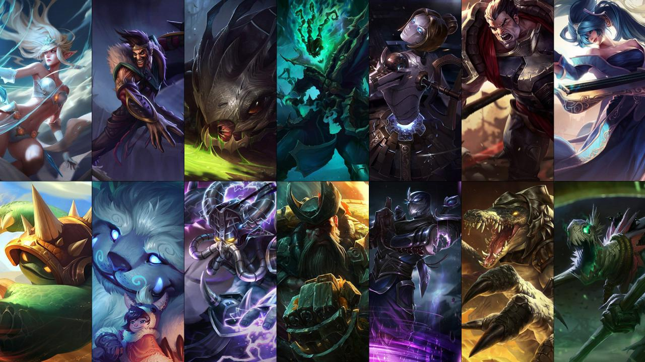 New Free Champion Rotation Draven Orianna Shen And More
