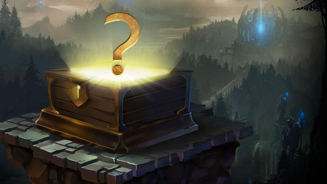 how do i open mystery gift in league of legends