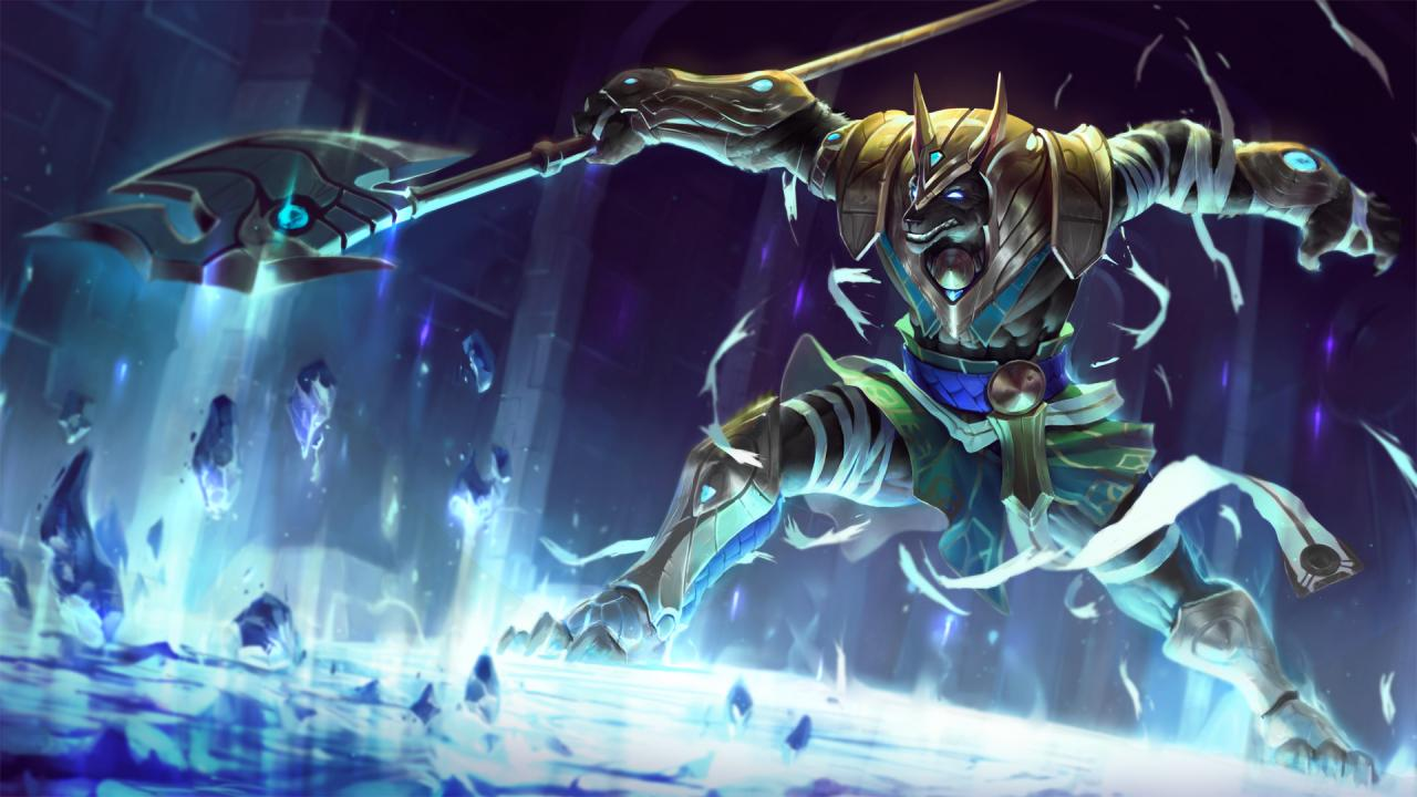 Visual Update Nasus The Curator Of The Sands League Of Legends