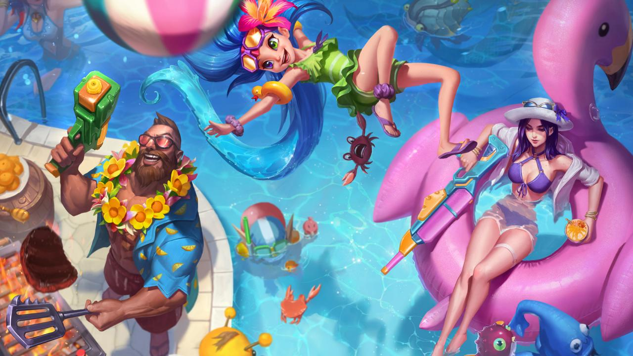 Learn more: Pool Party 2018 | League of Legends