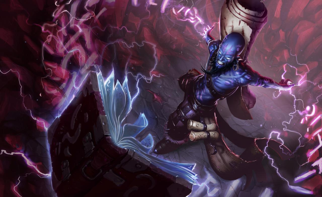 Champion Update Ryze Heads To PBE