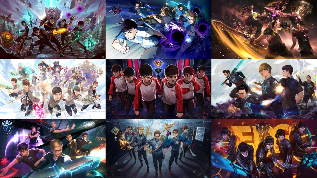 16 Teams 16 Artists Worlds Wallpapers Are Here League Of Legends
