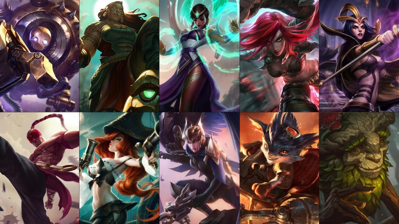 New Free Champion Rotation Ivern Quinn Illaoi And More