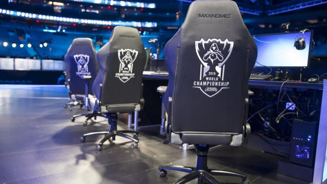 Win A Gaming Chair Used Throughout Worlds 2016 League