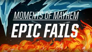 Moments of Mayhem: Epic Fails | 2016 All-Star Event