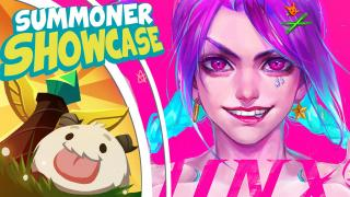Arcade Jinx! | Summoner Showcase /ALL Chat [League of Legends]