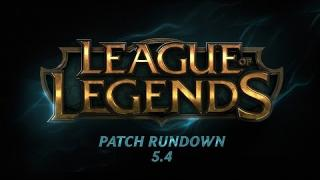Patch Rundown 5.4