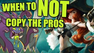When do you NOT copy the pros? | Baron Pit /ALL Chat [League of Legends]