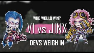 VI VS JINX: Devs Weigh In | League of Legends