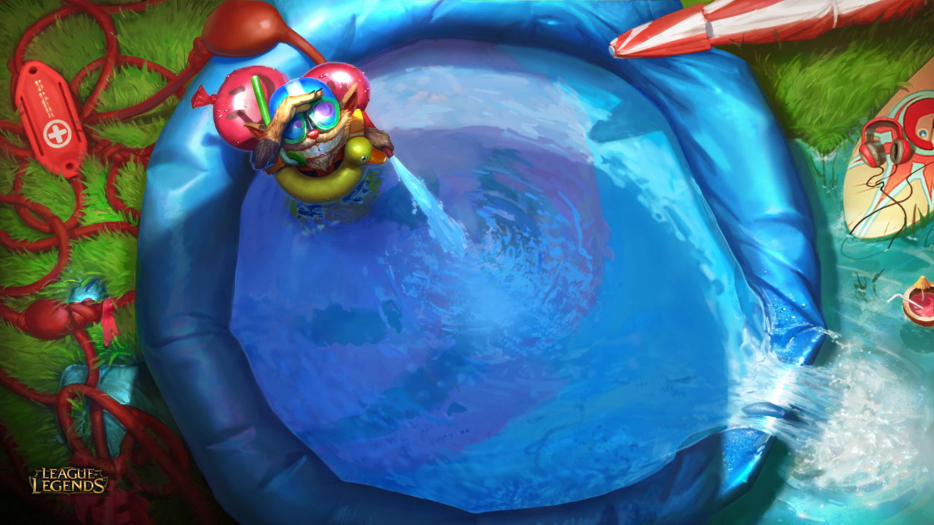 Pool Party Invitation League Of Legends